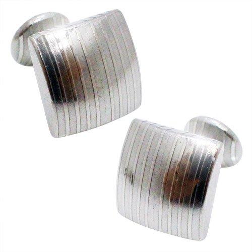 SUWADA スワダ 刃物鋼 スクエア カフス カフスボタン