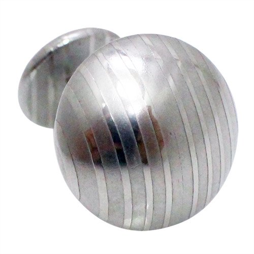 SUWADA スワダ 刃物鋼 ラウンド カフス カフスボタン