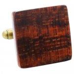 スネークウッド オリジナル 手作り木工 カフス 085