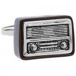 レトロ ラジオ カフス