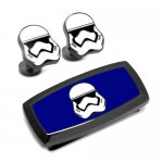 Star Wars スターウォーズ ストームトルーパー カフス マネークリップ セット<img class='new_mark_img2' src='https://img.shop-pro.jp/img/new/icons10.gif' style='border:none;display:inline;margin:0px;padding:0px;width:auto;' />