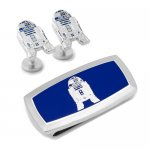 Star Wars スターウォーズ R2D2 カフス マネークリップ セット<img class='new_mark_img2' src='https://img.shop-pro.jp/img/new/icons10.gif' style='border:none;display:inline;margin:0px;padding:0px;width:auto;' />