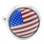 アメリカ 国旗 カフス