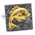 鯛 鯉 ゴールド カフス