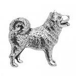 シロメ製 日本犬 柴犬 ピンズ ラペルピン
