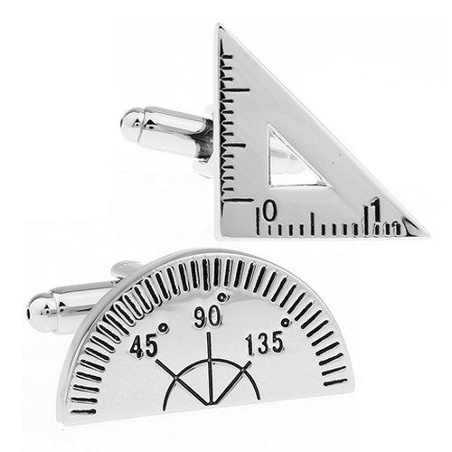 三角定規・分度器 カフス