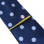 野球 バット ボール ネクタイ ネクタイピン セット