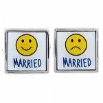 結婚 ウェディング ブライダル Married カフス