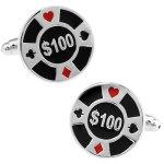 カジノ チップ$100 カフス