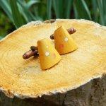 オリジナル 手作り木工 カフス 033