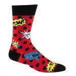 "Sock It To Me Men's Crew Socks ""Blamo""ブラモ  [メンズクルーソックス 靴下]"
