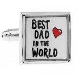 うちのお父さん世界一 BEST DAD IN THE WORLD カフス