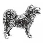 シロメ製 日本犬 柴犬 カフス
