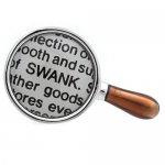 ルーペ 拡大鏡 SWANK ピンズ