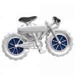 シルバー 自転車 SWANK ピンズ