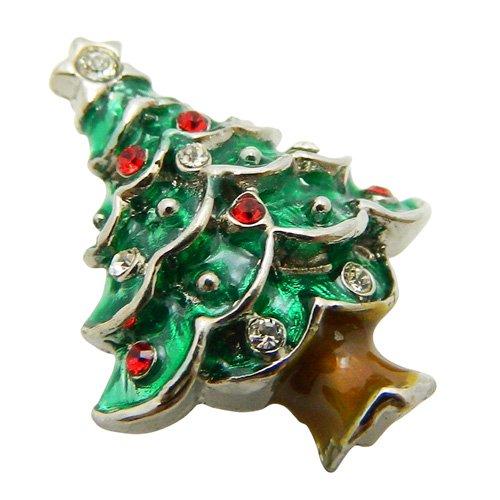 クリスマスツリー SWANK ラペルピン★期間限定価格★