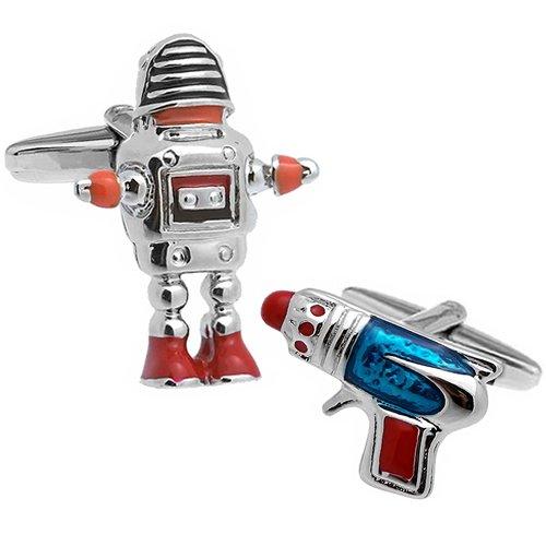 ロボット&銃 カフス