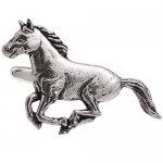 シロメ製 馬 サラブレッド カフス