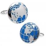 ワールドマップ 世界地図 カフス