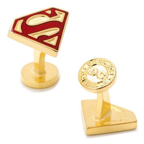 Superman スーパーマン ゴールド エナメル シールド カフス
