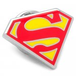 Superman スーパーマン シールド ピン【ピンズ・ラぺルピン】