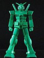 超合金の塊 機動戦士ガンダム ガンダム  セブンイレブン限定 グリーンメタリックバージョン