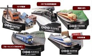 鉄道博物館収蔵車両 鉄道ヴィネットコレクション 全5種フルセット