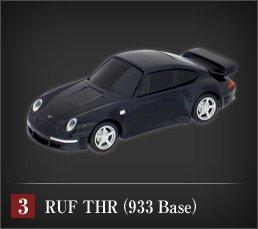 RUF Black Car Collectionポルシェ911ベース究極のスーパーカー「RUF THR(933 Base)」