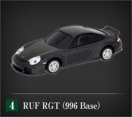RUF Black Car Collectionポルシェ911ベース究極のスーパーカー「RUF RGT(996 Base)」