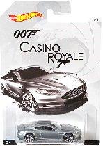 ホットウィール 007ボンドカー・ミニカーコレクション「アストンマーティンDBS(カジノロワイヤル)」