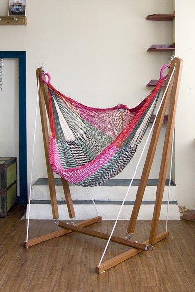 木製・室内用ハンモックスタンド
