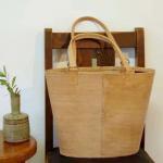 タジャスタンレザーバッグ  バケツの商品画像