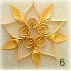 経木のオーナメント No.6の商品画像