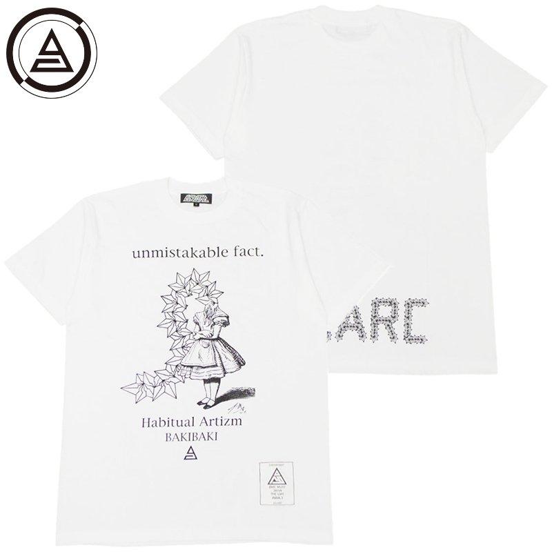 アナーク ANARC BAKIBAKI2 TEE(WHITE)アナークTシャツ ANARCTシャツ アナーク半袖 ANARC半袖 BAKIBAKI