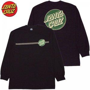 14d7f686d27f サンタクルーズ SANTA CRUZ OTHER DOT LONGSLEEVE TEE(BLACK)サンタクルーズロンT SANTA CRUZロンT  サンタクルーズロングTシャツ