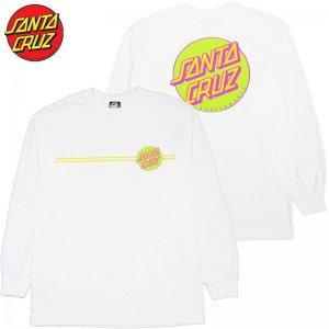 6896dfb1b933 サンタクルーズ SANTA CRUZ OTHER DOT LONGSLEEVE TEE(WHITE)サンタクルーズロンT SANTA CRUZロンT  サンタクルーズロングTシャツ