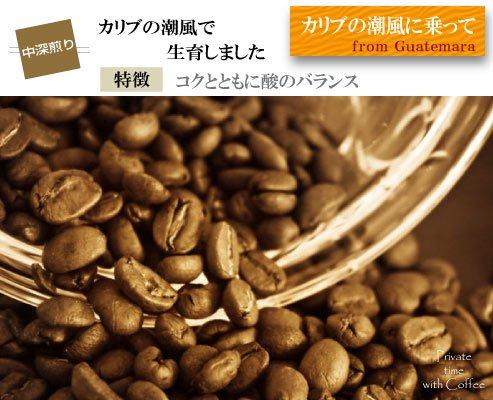 【グァテマラ】サントトーマスパチュージ農園(中深煎り)200g