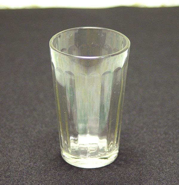 昭和レトロ モールガラス グラス