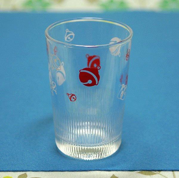 レトロポップ 鈴柄 グラス モールガラス