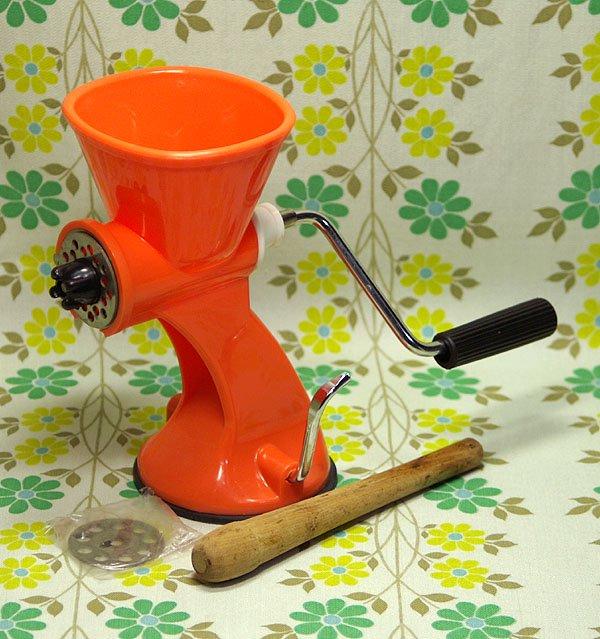 レトロプラスチック ホームミンサー オレンジ