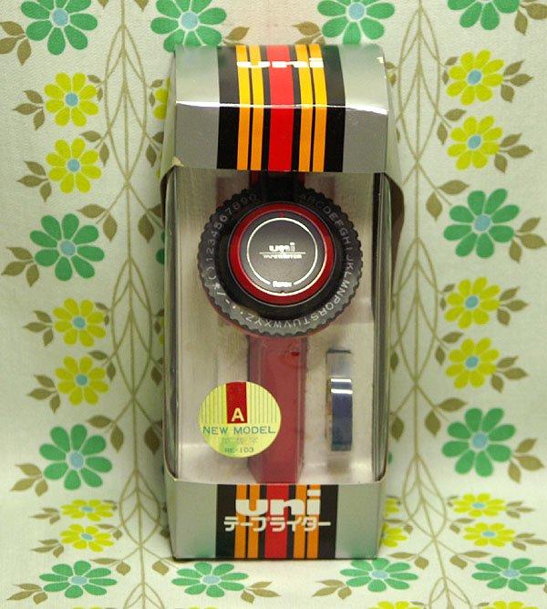 レトロポップ UNIテープライター RE-103 赤
