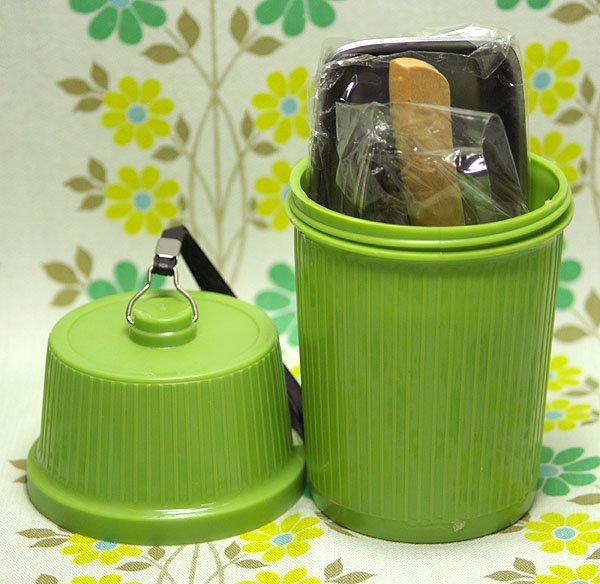 レトロプラスチック レジャーセット ポニー 3人用 グリーン