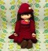 昭和レトロ JOY DOLL ピッコロ 手編みドレスの抱き人形