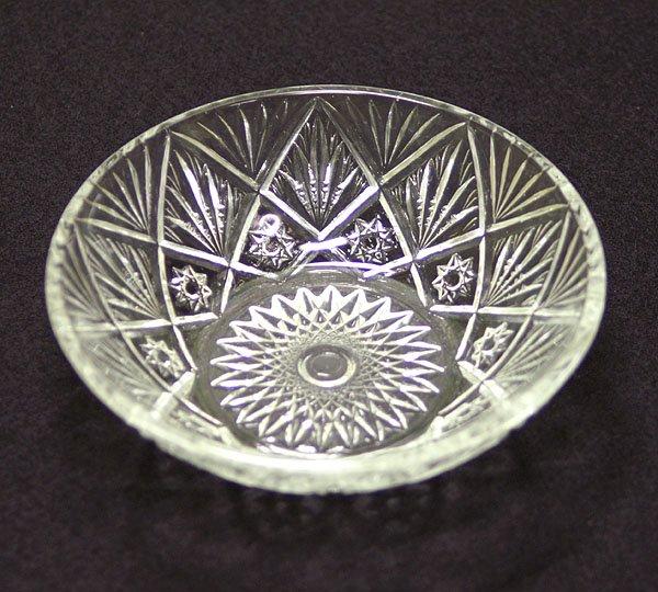 昭和レトロ クリア プレスガラス 小鉢