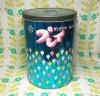 レトロポップ 資生堂洗剤プレイ 4.5kg洗剤缶 花柄