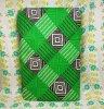 レトロポップ こたつ布団カバー チェック柄 グリーン×ブラック×ホワイト