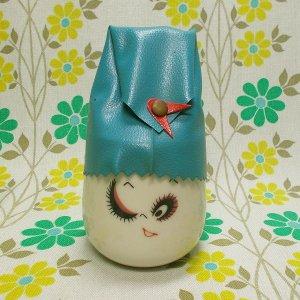 昭和レトロポップ なかよし表情カップ 湯飲み ウインク