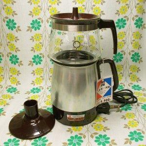 レトロモダン ナショナル サイフォン式 自動コーヒー沸器