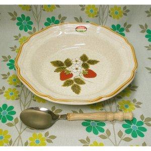レトロ mikasa製 ストロベリーフェスティバル カレー皿セット