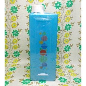 レトロプラスチック 水玉柄 冷水筒 ブルー